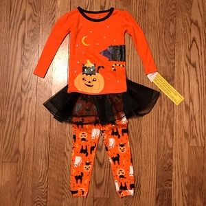 Carter's Halloween 3 pc Outfit with Tutu 12M K26